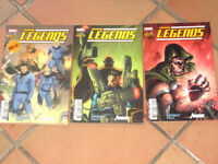 lot 3 albums MARVEL LEGENDS n°1 2 et 4 - Fantastic four Avengers - Panini Comics