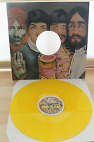 THE BEATLES SHEA AT LAST VERY RARE LP LIMITED EDITION YELLOW VINYL