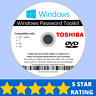 Toshiba Password Reset Disk Recovery Password Removal Windows XP VISTA 7 8 10