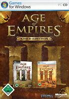 Age of Empires 3 Gold Edition - PC Game beide in 1 Auktion GOLD EDITION Deutsch