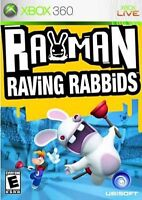 Rayman Raving Rabbids ~ Microsoft Xbox 360 ~ VGC, COMPLETE & FULLY TESTED ~