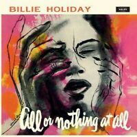 Billie Holiday All Or Nothing At All ltd Coloured Vinyl LP NEW sealed