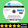 Dell Windows 10 8 8.1 7 Vista XP Recovery Repair Disc USB Reinstall Software DVD