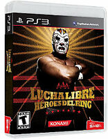 Lucha Libre AAA: Heroes del Ring (Sony PlayStation 3, 2010) PS3 NEW!