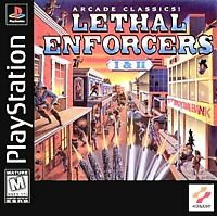 Lethal Enforcers I & II (Sony PlayStation 1, 1997) - PS1