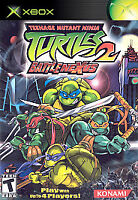 Teenage Mutant Ninja Turtles 2: BattleNexus (Microsoft Xbox, 2004)
