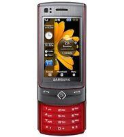 Samsung S8300 Slider Handy ( Vodafone ohne simlock) Guter zustand Platin Rot