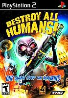 Destroy All Humans (Sony PlayStation 2, 2005) (Greatest HIts Edition)