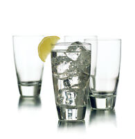 New 4 Clear Drinking Beverage Tumbler Glasses Libbey