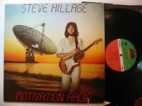 STEVE HILLAGE MOTIVATION RADIO  usa atlantic prog Lp ex