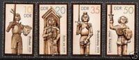 DDR Nr.3063/66 ** Rolandsäulen I 1987, postfrisch