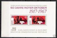 DDR Block Nr.26 ** Oktoberrevolution 1967, postfrisch