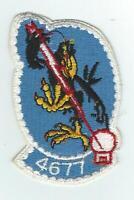 4677th DEFENSE SYTEMS EVALUATION SQUADRON patch