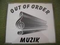 Maxi CD : OUT OF ORDER - Muzik
