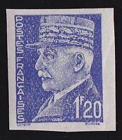 Pétain -1f20- essai en bleu -cote 150