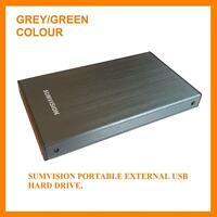 "Sumvision 320GB External Portable 2.5"" USB Hard Drive"
