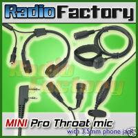 MINI Pro Throat mic for LT-3288 KG-669 KG-UVD1 69E99K