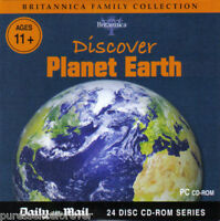 BRITANNICA FAMILY COLLECTION: DISCOVER PLANET EARTH (Daily Mail PC CD-ROM)
