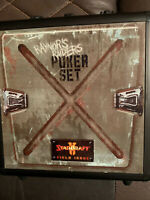 BLIZZCON 2009 STARCRAFT 2 EXCLUSIVE POKER SET  **NEW**