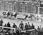 1940 SEABISCUIT SANTA ANITA LAST RACE POLLARD PHOTO