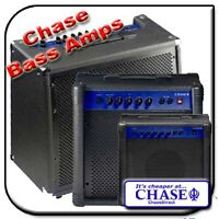 Chase Electric Bass Guitar Bass Amplifier Combo Amp 20 or  40 or 60 Watt