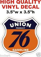 Vintage Union Product 76 Gasoline Gas Pump Oil Decal - The Best or 100% Refund!