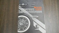 Vintage '62 Tempest Accessories Car Brochure Free Shipping!1109E