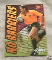 1996 AUSTRALIAN  RUGBY UNION CARD NB1 - JASON LITTLE, HOBBY