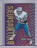 1999 TOPPS CHROME SB4 BARRY SANDERS SEASONS BEST BULL RUSHERS DETROIT LIONS HOF