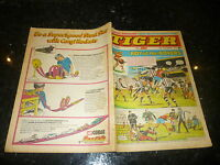 TIGER & JAG Comic - Date 12/09/1970 - Inc Roy of thr Rovers (Melchester)