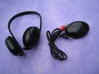 Wireless 5 in 1 Earphone Headphone For TV FM PC MP3 CD