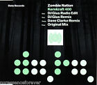 ZOMBIE NATION - Kernkraft 400 (UK 4 Track CD Single)