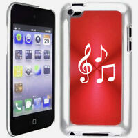 Red Apple iPod Touch 4th Generation 4g Hard Case Cover B628 Music Notes