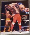 Rowdy Roddy Piper Signed WWF WWE 16x20 Photo PSA/DNA COA Wrestlemania Mr. T Auto