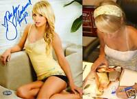 Sara Jean Underwood Signed Playboy 8x10 Photo PSA/DNA