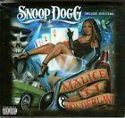 SNOOP DOGG-Malice In Wonderland-Deluxe Ltd CD + T shirt-BRAND NEW-Still Sealed