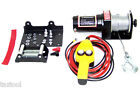 12V 2000 LB CAPACITY POWER CABLE ATV WINCH KIT 12 VOLT RECOVERY TOWING TOW