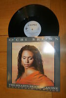 "O'CHI BROWN - Two Hearts beating as one - 1986 UK 3-track 12"" Single"