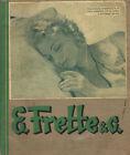 Fabbriche Telerie E. FRETTE & C. Monza cat. 87 (1935)