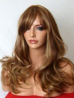 Light BROWN WIG Sexy Lady Long Curly natural FULL WOMEN LADIES HAIR WIG A9