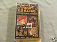 TWO RUGBY LEAGUE VHS VIDEOS -   ROCK N ROLL & 100 YEARS HISTORY