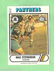 1976 SCANLENS RUGBY LEAGUE CARD #115. MIKE STEPHENSON, PENRITH PANTHERS