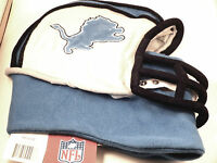 NFL Team Helmet Fleece Hat Officially Licensed DETROIT LIONS - Medium