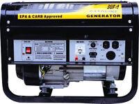3500W 3500 Watt Gas Emergy 6.5HP Gas Power Generator OHV Engine Storm