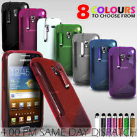 PREMIUM S LINE WAVE GEL SKIN CASE COVER + FREE SCREEN GUARD + FREE STYLUS