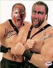 Demolition Ax & Smash Signed 8x10 Photo WWE PSA/DNA COA Classic WWF Tag Team