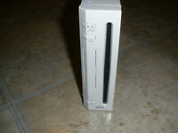Nintendo Wii Video Game System Console Unit Only White ~As Is Broken Defective~