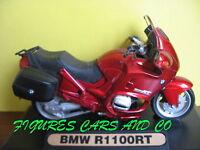 MOTO 1/18 BMW  R 1100RT ROUGE  welly maisto majorette