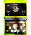 COFFRET F.D.C avec Ailes 1979 Monnaie de Paris série 10 de pièces françaises