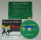 CD MAURIZIO POLLINI Shuber Pianoforte sonata si la repubblica lp mc dvd vhs